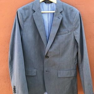 Banana Republic non iron tailored slim fit blazer